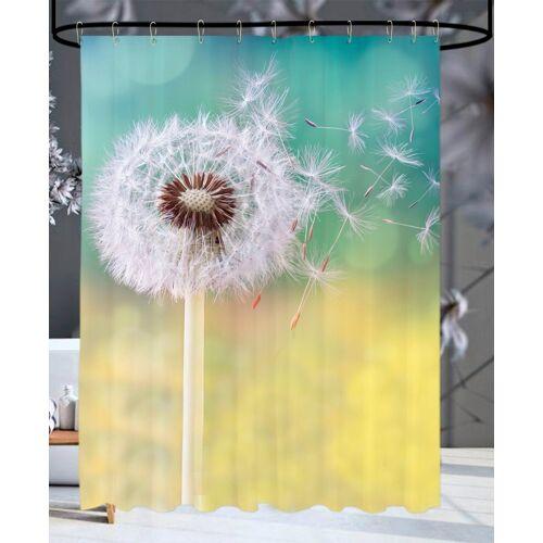 Sanilo Duschvorhang »Pusteblume« Breite 180 cm, 180 x 200 cm