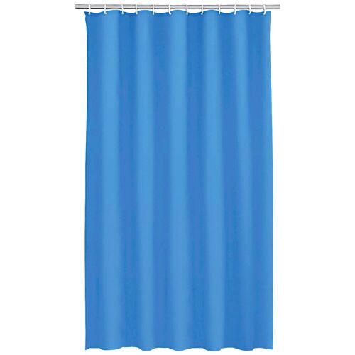 Kleine Wolke Duschvorhang »Uni«, Breite 180 cm, blau
