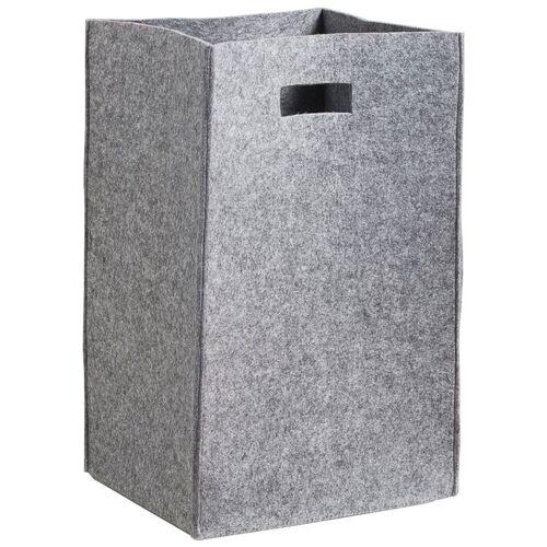 ZELLER Wäschesammler »Filz«, grau