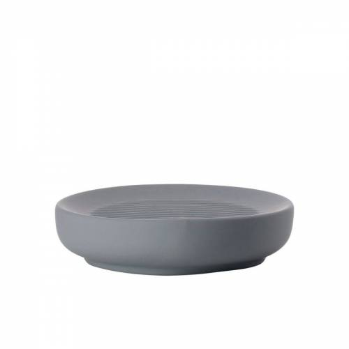 Zone Seifenschale »Seifenschale UME, Porzellan, grau, ca. 12 cm«