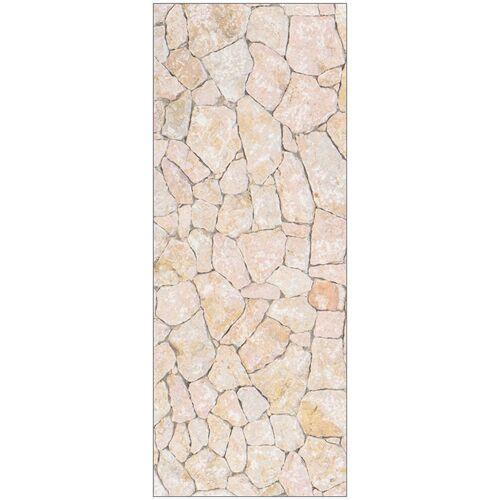 MySpotti Duschrückwand »fresh F1 Natursteinwand Beige«, 100 x 255 cm, natur