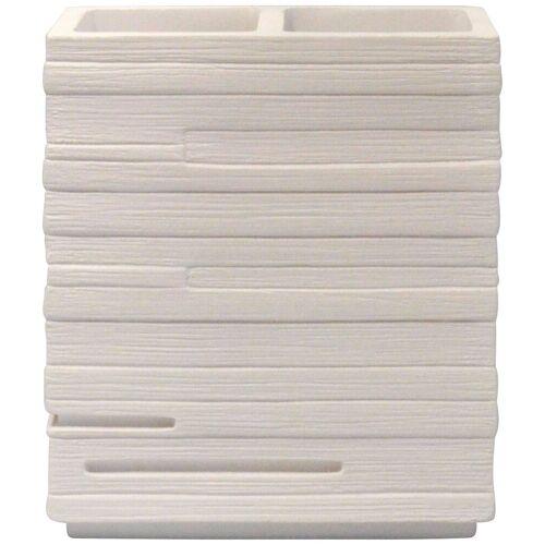 RIDDER Zahnbürstenhalter »Brick«, BxH: 10x11 cm, weiß