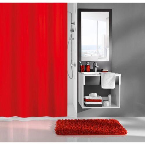 Kleine Wolke Duschvorhang »Kito«, 120 x 200 cm, rot