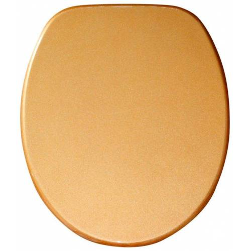 Sanilo WC-Sitz »Glitzer«, goldfarben