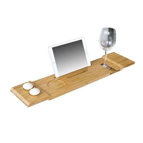 SoBuy Badewannenablage »FRG104«, Badewannenbrett Badewannenauflage Halterung / Halter für iPad oder Handys