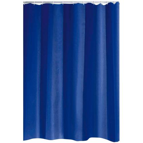 Duschvorhang »Standard« Breite 120 cm, ca. 120 x 200 cm, blau