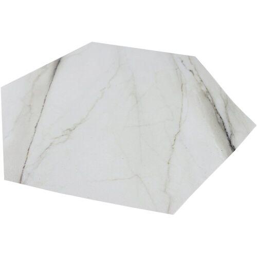 MySpotti Duscheinlage »Klebefliese stepon Kylie, Hexagon«, B: 35 cm, L: 30 cm, 1-tlg., Klebefliese, Antirutsch-Aufkleber