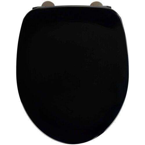 WENKO WC-Sitz »Armonia«, schwarz