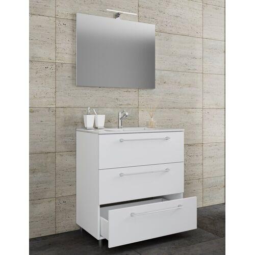 VCM Waschtisch, Breite 80 cm: Weiß