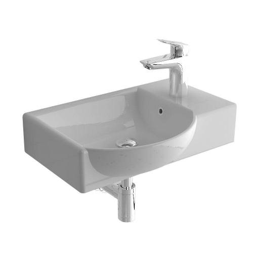 Alpenberger Waschbecken »Waschbecken 45 cm mit Überaluf, «