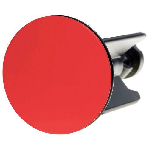Sanilo Stöpsel für Waschbecken, Ø 4 cm, rot