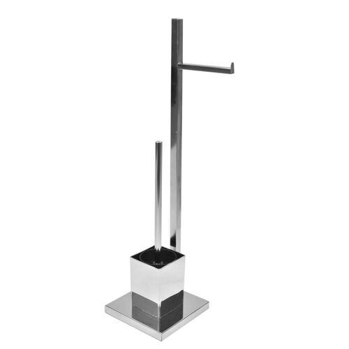 HTI-Line Badregal »Toilettenpapierhalter mit WC-Bürste Corse«, Toilettenpapierhalter