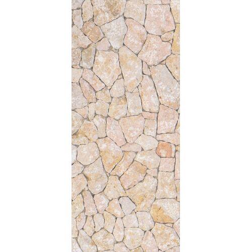 MySpotti Duschrückwand »fresh F2 Natursteinwand Beige«, 90 x 210 cm, natur