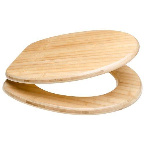 Sanilo WC-Sitz »Bambus«, holzfarben