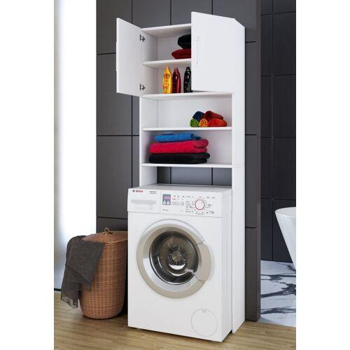 """VCM Hochschrank »Waschmaschinen - Überbauschrank """"Jutas""""«, Weiß"""