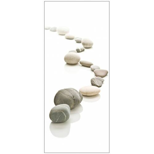 MySpotti Spritzschutz »fresh F2 Stone Path«, 90 x 210 cm