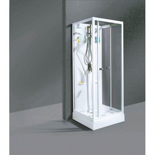 Schulte Fertigdusche »Bill«, BxT: 90 x 90 cm, weiß