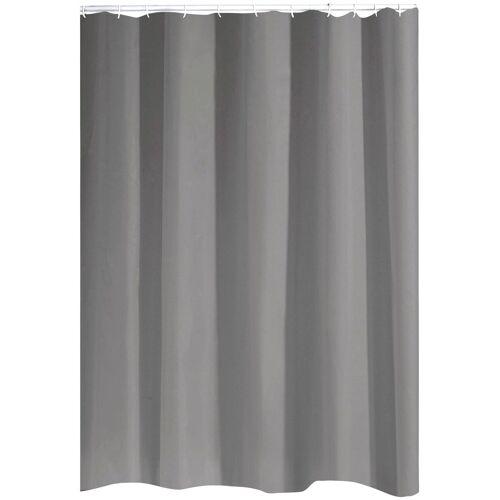 Duschvorhang »Standard« Breite 180 cm, ca. 180 x 200 cm, grau