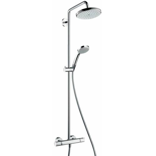 Hansgrohe Duschsystem »Showerpipe Croma 220«, chrom