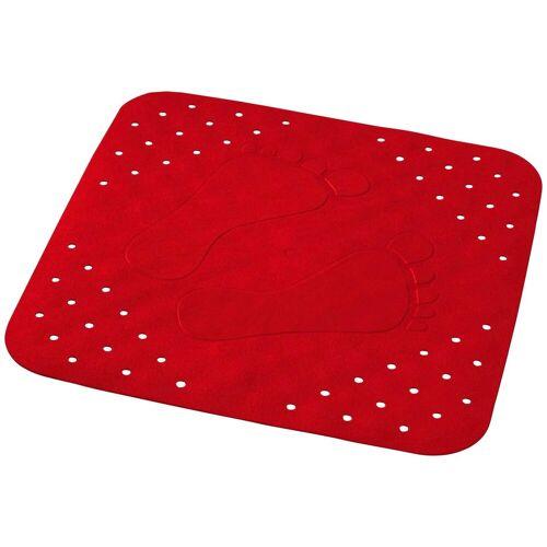 RIDDER Duscheinlage »Plattfuß«, ca. 54x54 cm, rot