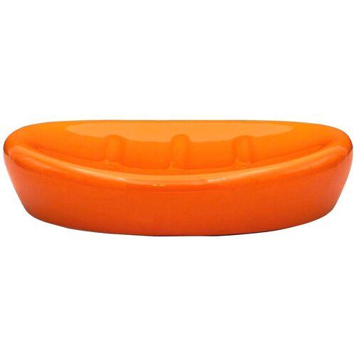 RIDDER Seifenschale »Belly«, Keramik, orange