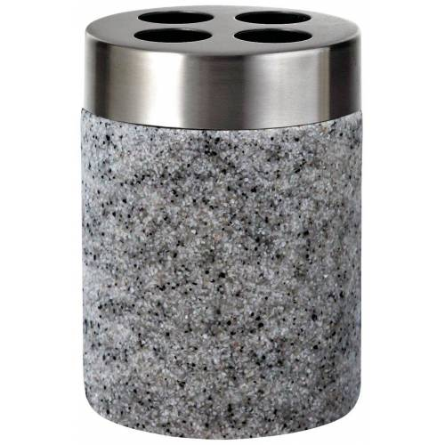 RIDDER Zahnbürstenhalter »Stone«, grau