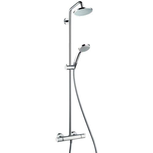 Hansgrohe Duschsystem »Showerpipe Croma 160«, chrom
