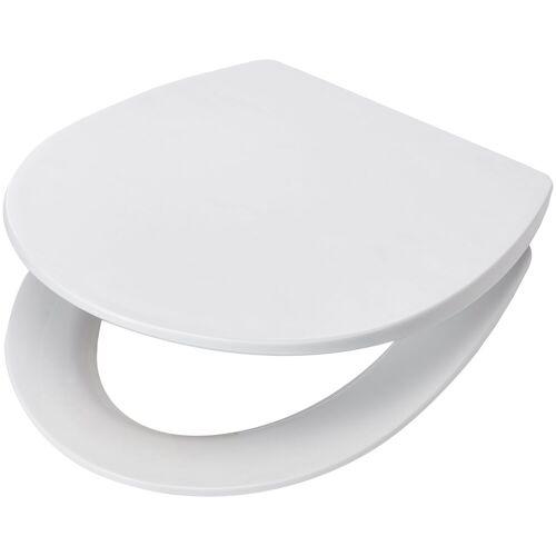 WC-Sitz »Paris weiß«, mit langsamer Absenkung, PP Klodeckel
