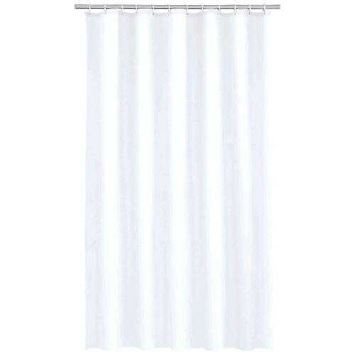 Kleine Wolke Duschvorhang »Uni«, Breite 180 cm, weiß