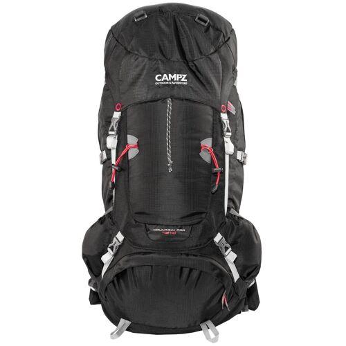 CAMPZ Wanderrucksack »Mountain Pro 42+10l Rucksack«, schwarz