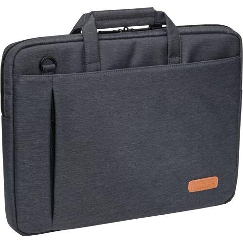 """PEDEA Notebooktasche »Notebooktasche """"ELEGANCE"""" 17,3"""" (43,9cm)«, Grau"""