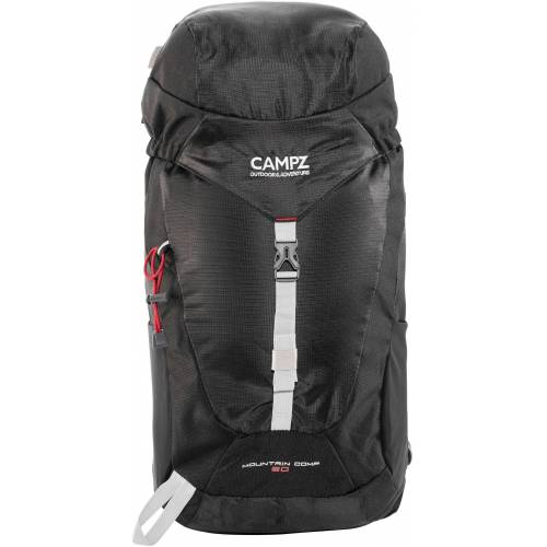 CAMPZ Wanderrucksack »Mountain Comp 20l Rucksack«, schwarz