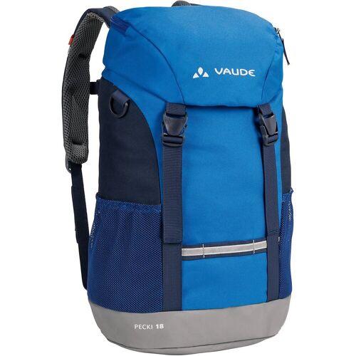 VAUDE Wanderrucksack »Kinder Wanderrucksack PECKI 18L«, blau