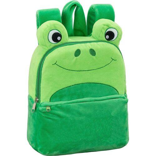 safta EXKLUSIV Kinderrucksack Frosch, grün