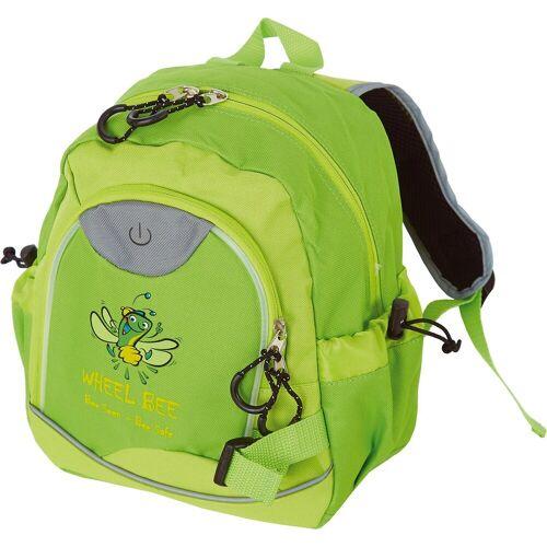 Wheel-Bee Kindergartentasche »Kinderrucksack Kiddy Bee LED Green«