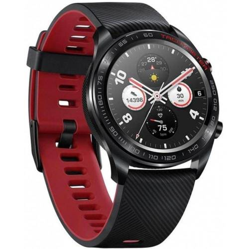 Honor Watch Magic - Smartwatch - meteorite black/red Smartwatch