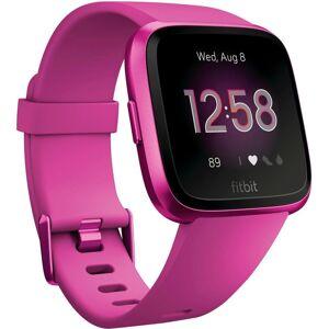 fitbit Versa Lite Smartwatch, magenta   magenta