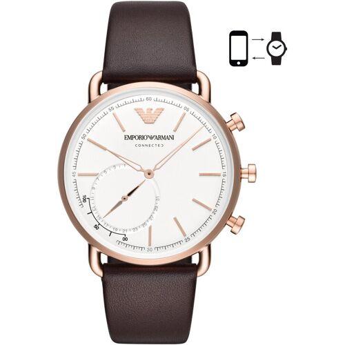 Giorgio Armani EMPORIO ARMANI CONNECTED ART3029 Smartwatch, braun
