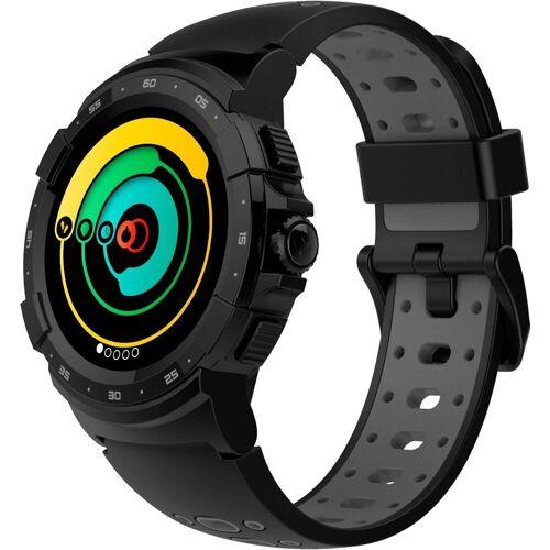 MYKRONOZ ZeSport2 Smartwatch (1,3 Zoll), schwarz   black/grey