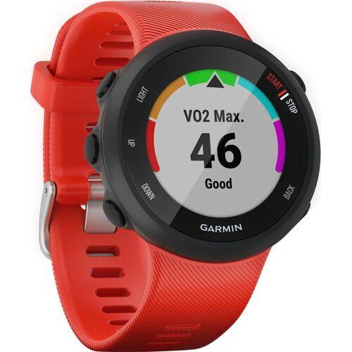 Garmin Forerunner 45, Silikon-Armband 20mm Smartwatch (2,63 cm/1,04 Zoll), rot   rot