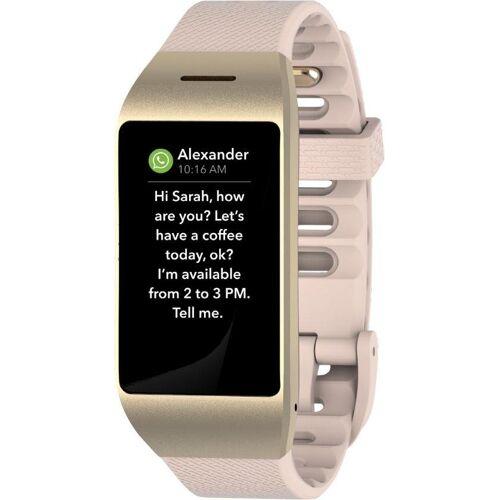 MYKRONOZ ZENEO Smartwatch (2,9 cm/1,14 Zoll), pink/black