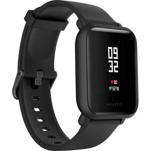 Amazfit Bip Lite (Blue) Smartwatch (3,25 cm/1,28 Zoll), schwarz