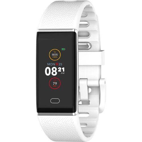 MYKRONOZ ZETRACK Smartwatch (2,44 cm/0,96 Zoll), weiß