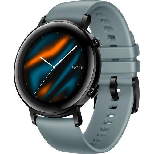 Huawei Watch GT 2 Smartwatch (1,2 Zoll, RTOS), blau   lake cyan