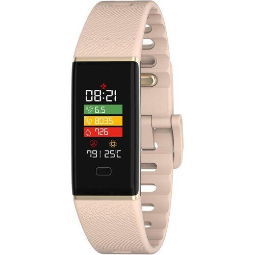 MYKRONOZ ZETRACK Smartwatch (2,44 cm/0,96 Zoll), Pink
