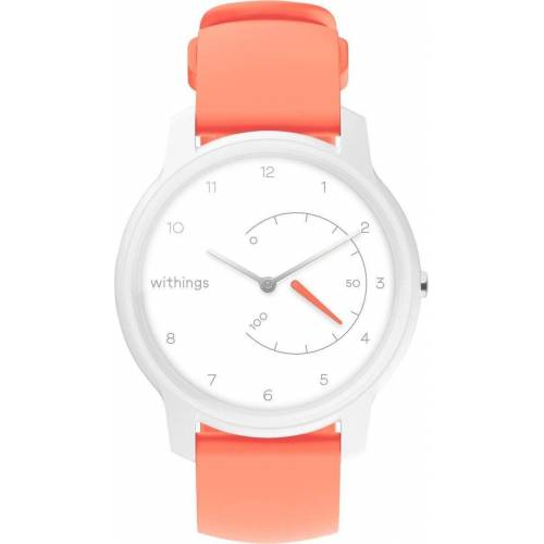 Withings Move Fitnessuhr, weiß-coral