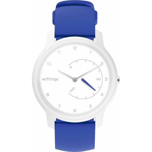 Withings Move Fitnessuhr, weiß-blau