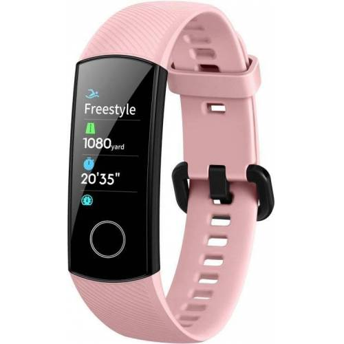 Honor Band 5 Smartwatch (2,4 cm/0,95 Zoll), Coral Pink