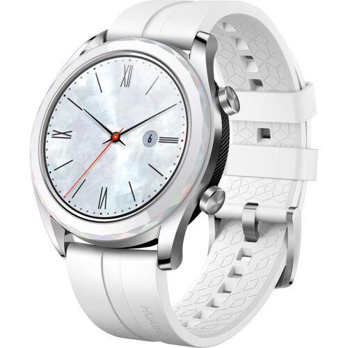 Huawei ELEGANT Smartwatch (3,05 cm/1,2 Zoll, Watch OS 5), weiß   weiß