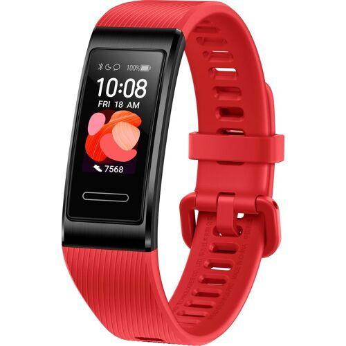 Huawei Band 4 Pro Smartwatch (2,41 cm/0,95 Zoll), rot   Cinnabar Red